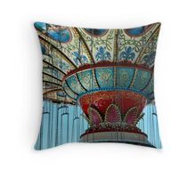 Mother Ship Lands - Point Pleasant Throw Pillow