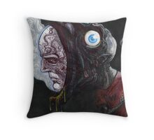 The Green Man Gets Religion Throw Pillow