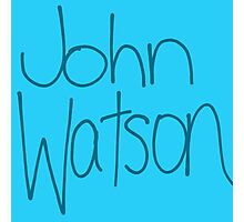 Dr. John H. Watson Photographic Print