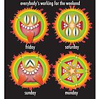 working for the weekend by designsalive