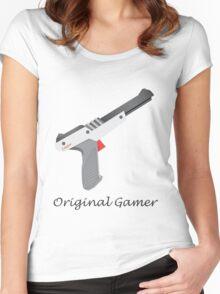 Original Gamer Women's Fitted Scoop T-Shirt