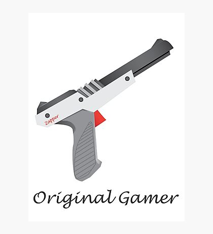 Original Gamer Photographic Print