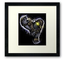Protector of the Lamb Framed Print
