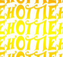 Hottie Orange Sticker
