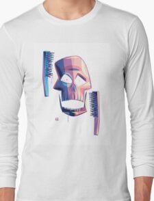 Exfoliate (sans-wordage) Long Sleeve T-Shirt