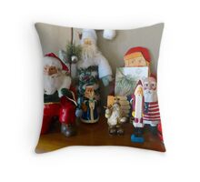 Ho Ho Ho, two Throw Pillow