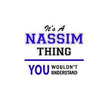 It's a NASSIM thing, you wouldn't understand !! by thestarmaker