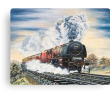 Duchess in the 1960's Canvas Print