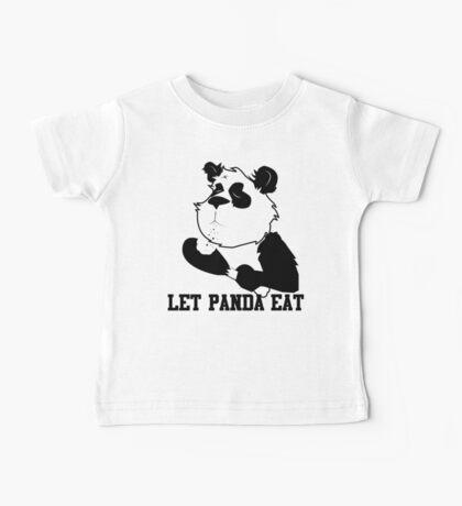 LET PANDA EAT (2) Baby Tee