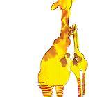Giraffes by Zoe Sadokierski