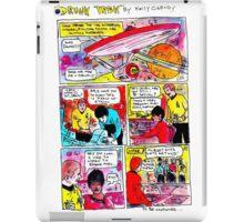 """Drunk Trek"" iPad Case/Skin"