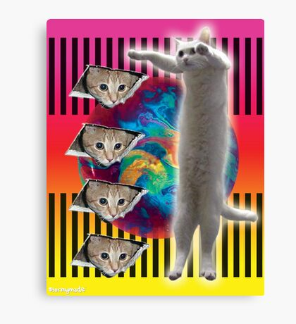 ELDER CATS OF THE INTERNET Canvas Print