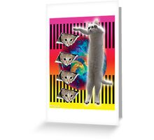 ELDER CATS OF THE INTERNET Greeting Card