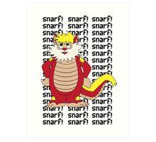 SNARF Art Print