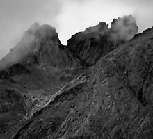 Misty Mountains by Michael Anderson