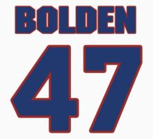 National football player Omar Bolden jersey 47 by imsport