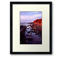 Ancient Land Framed Print