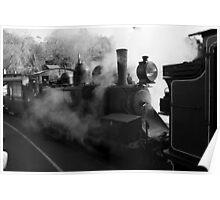 Raising Steam Poster