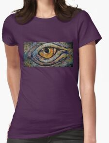 Awakened Dragon Womens Fitted T-Shirt
