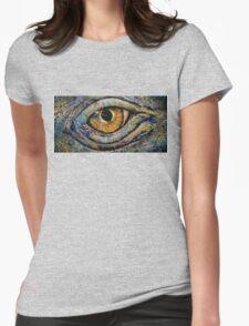 Awakened Dragon Womens Fitted T-Shirt