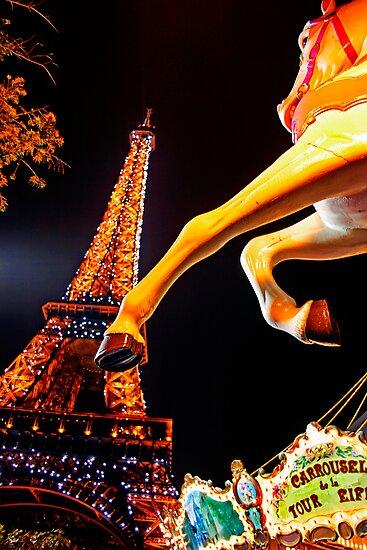 Eiffel Carousel by Skip Hunt