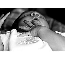 Precious Hands Photographic Print