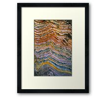 The Art of Rock Folding Framed Print