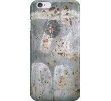 Rusty Metal 72 iPhone Case/Skin