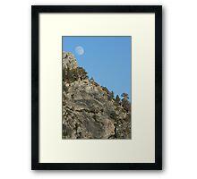 Cathedral Range  Framed Print