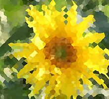 Sunflower Art by bwventures