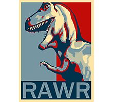 RAWR! American TREX Hope Spoof Photographic Print
