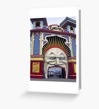 Photograph : Luna Park, Just for Fun!  St. Kilda, Melbourne Greeting Card