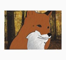 Beauty Forest Fox Baby Tee