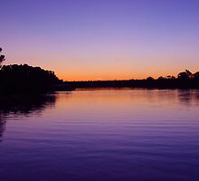 Swan Reach in evening by Belinda Stewart