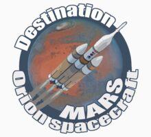 Orion spacecraft destination Mars T-Shirt