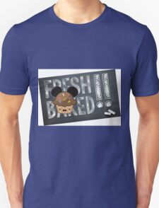 Fresh Baked Muffin on Chalk Unisex T-Shirt
