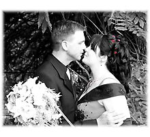 Sealed With A Kiss Photographic Print
