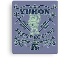 Yukon Prospecting and Bumble Reforming Canvas Print