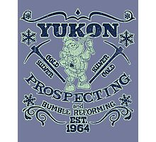 Yukon Prospecting and Bumble Reforming Photographic Print