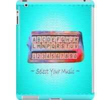 Select Your Music iPad Case/Skin