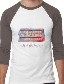 Select Your Music Men's Baseball ¾ T-Shirt