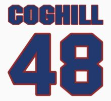 National football player George Coghill jersey 48 by imsport