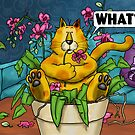 WHAT Cat - Orchid by Martine Carlsen