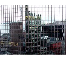 Melbourne blocks Photographic Print
