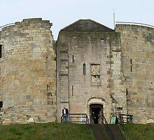 York's Clifford's Tower by AARDVARK
