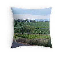 Gulgong Vineyard Throw Pillow