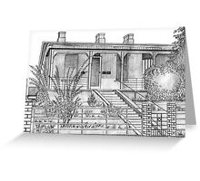 Ben Chifley House Bathurst Greeting Card