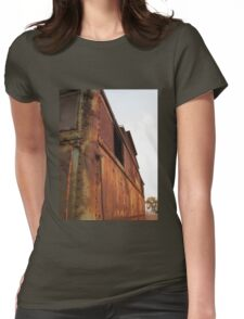 Rusty caboose Womens Fitted T-Shirt