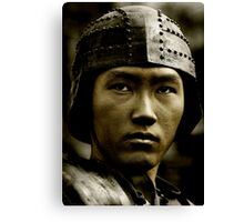 Asian Warrior Canvas Print