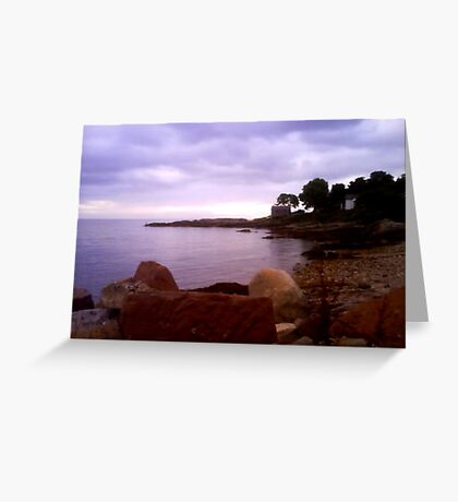 Corrie Boathouse Greeting Card